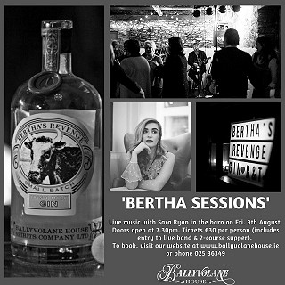 Bertha Sessions at Ballyvolane House