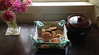 Hannah's Breakfast Griddle Scones at Roundwood House