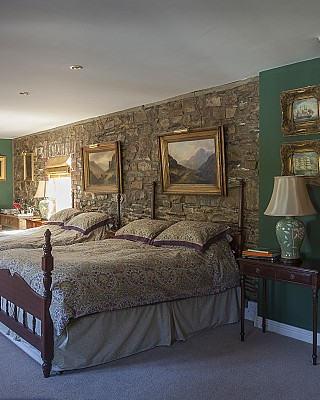 Kilmokea Country Manor bedroom