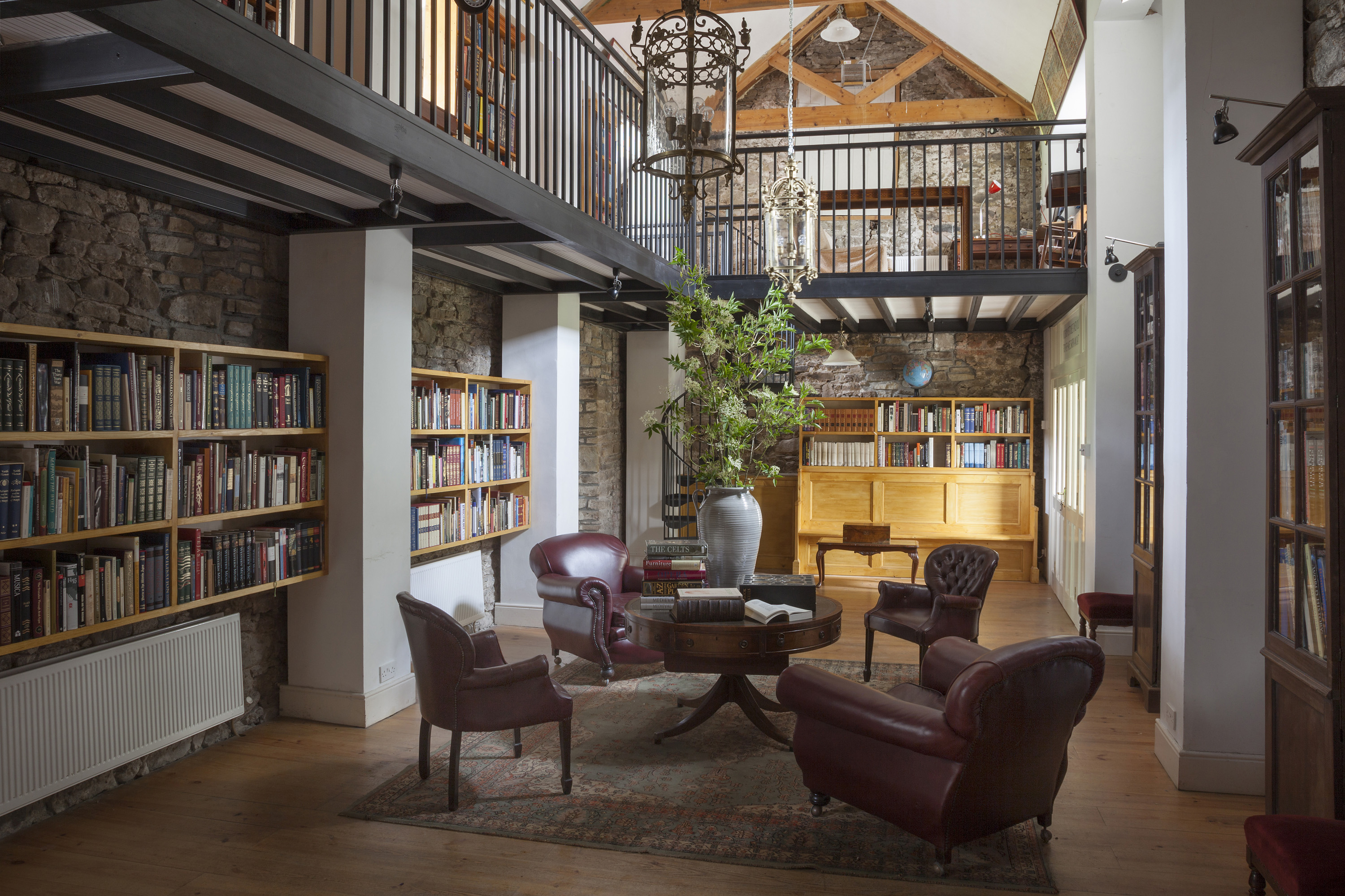 Roundwood House Library