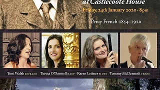 Percy French centenary concert at Castlecoote House
