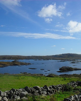 View from Emlaghmore Cottage